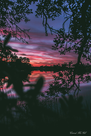 Sunset Reflection - Wrightsville Beach, NC