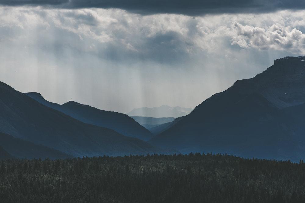 Near Banff National Park - Alberta