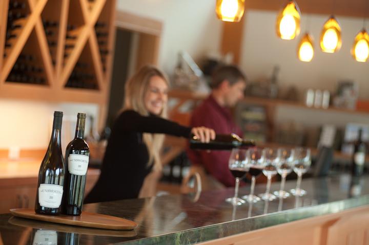 Tasting Room at Unsworth Vineyards
