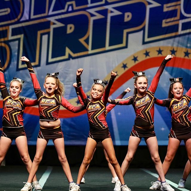 Them feels when you hit a great routine! #cuastars @extremecheerallstars