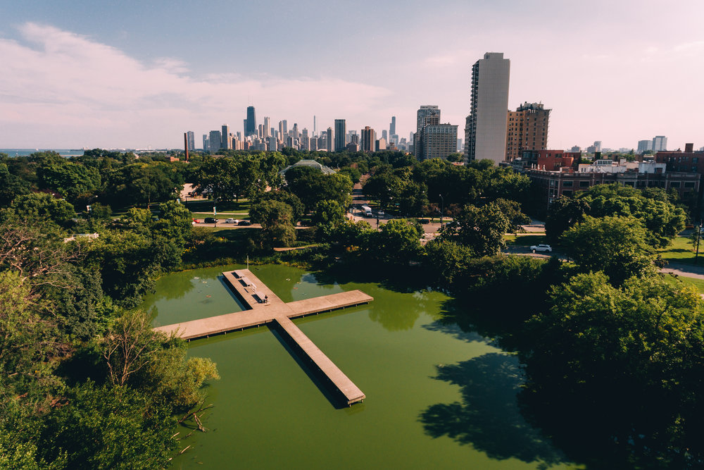 Lincoln Park Lagoon, Chicago