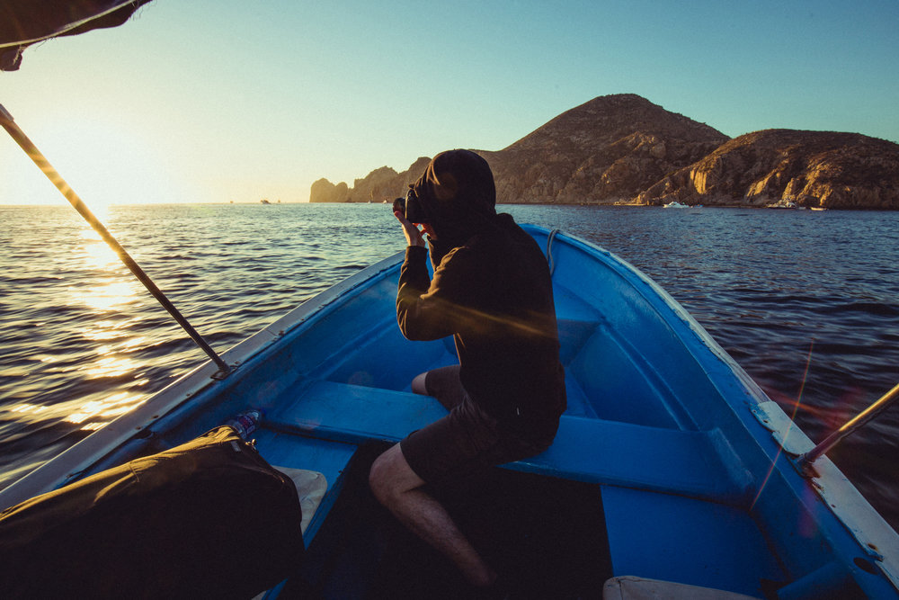 Sunrise shoot on the Sea of Cortez. Photo by: Y.O. Photography