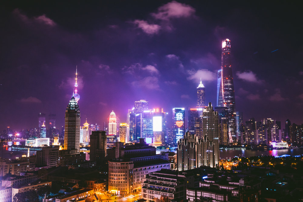 The Shanghai skyline. Canon 5D MK IV and 24-70mm F 2.8 L