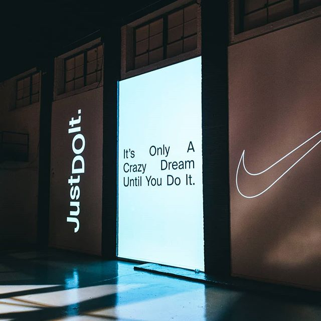 its only a crazy dream until you do it @nikechicago
