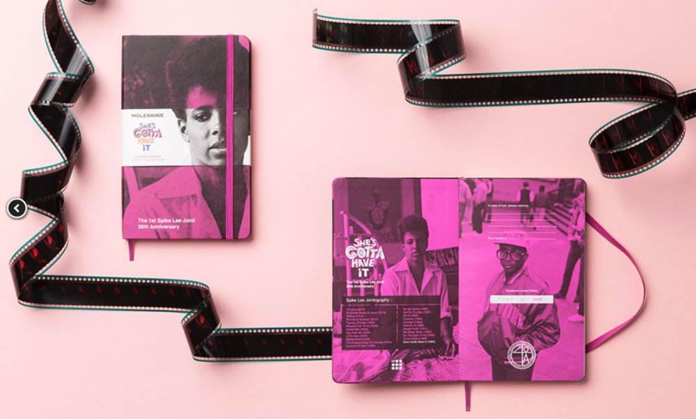Click to purchase your limited edition She's Gotta Have It Moleskine!
