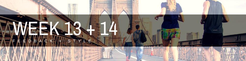 Acorn Mentoring_Week 13 + 14