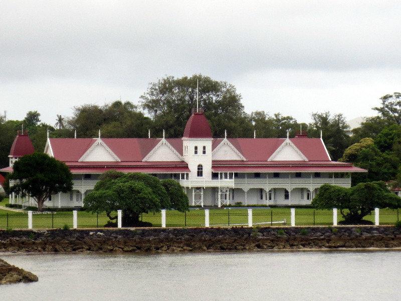 Tonga's Royal Palace