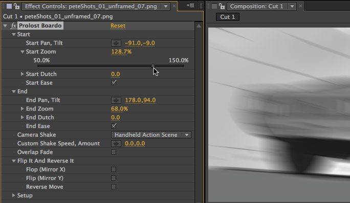 how to fix camera shake preset adobe after effects