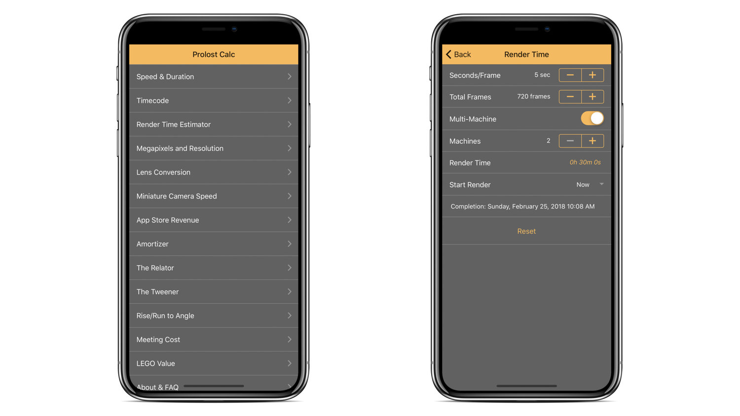 Prolost Calc — Prolost Store
