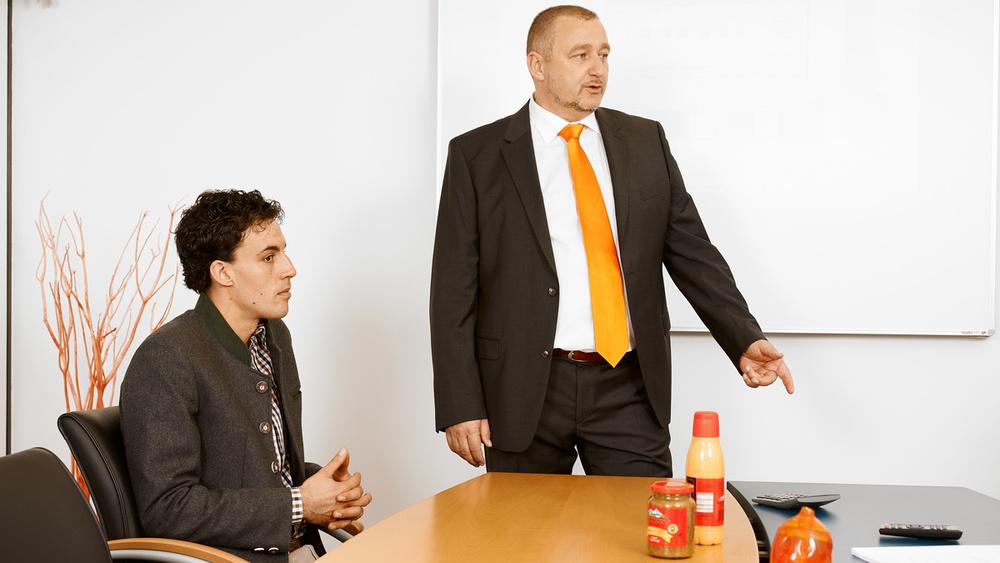 Bilanz- und Jahresabschlusskonferenz mit Gerhard & Michael Garnreiter, BAUMANN'S Senf & Soßen_1