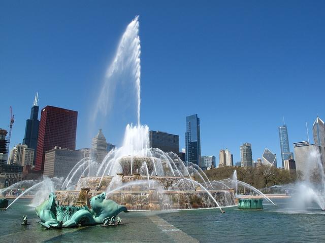 photo: Buckingham Fountain / Wally Argus
