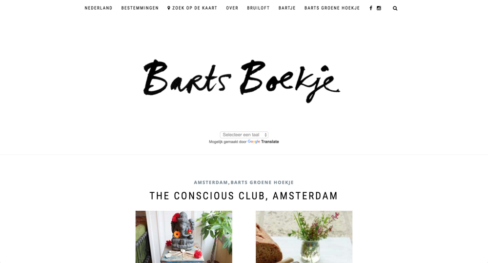 http://www.bartsboekje.com/the-conscious-club-amsterdam/