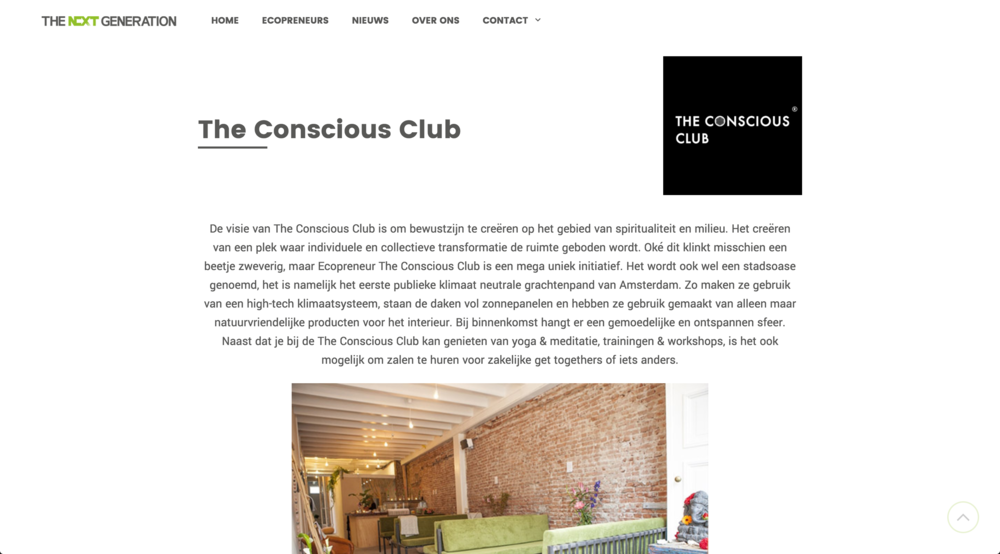 https://thenextgeneration.nl/ecopreneurs/the-conscious-club/