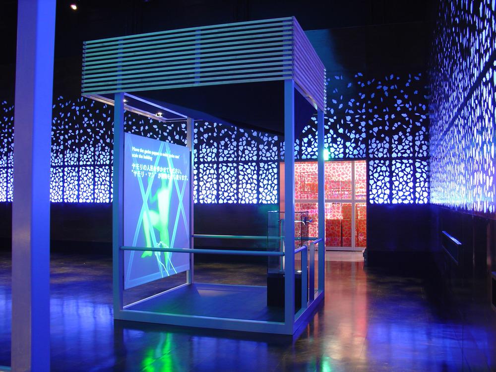 David atkinson lighting design uk pavilion expo