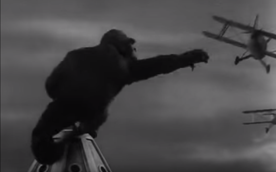 King Kong, the 1933 movie
