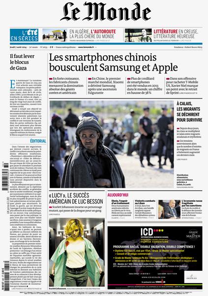 Le monde / France / 2014.08