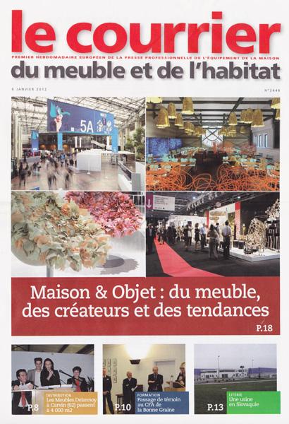 Le courrier / France / 2012.01