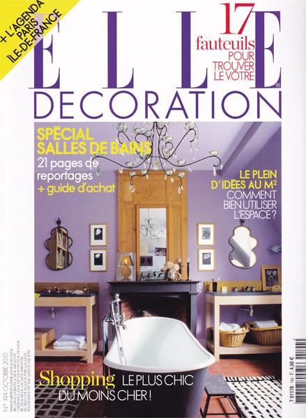 Elle Décoration / France / 2010.10