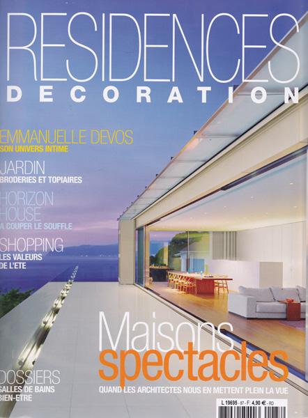 Résidences décoration / France / 2009.06