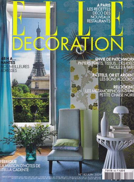 Elle décoration / France / 2009.06