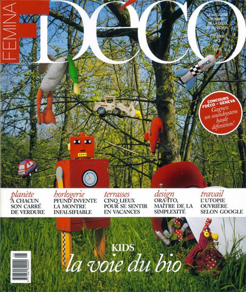 FeminaDéco / France / 2008.06