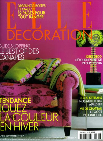 Elle Décoration / France / 2007.11