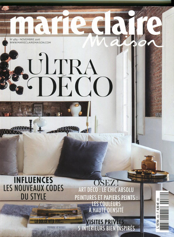 Marie Claire Maison / France / 2016.11