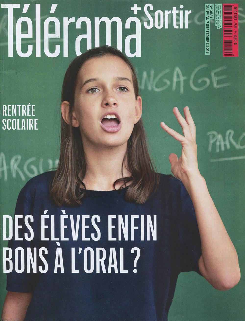 Télérama / France / 2018.08