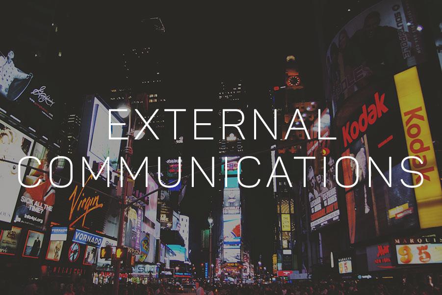 External Communications Videos