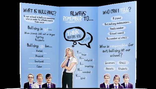 Anti bullying the park school leaflet frontg altavistaventures Images
