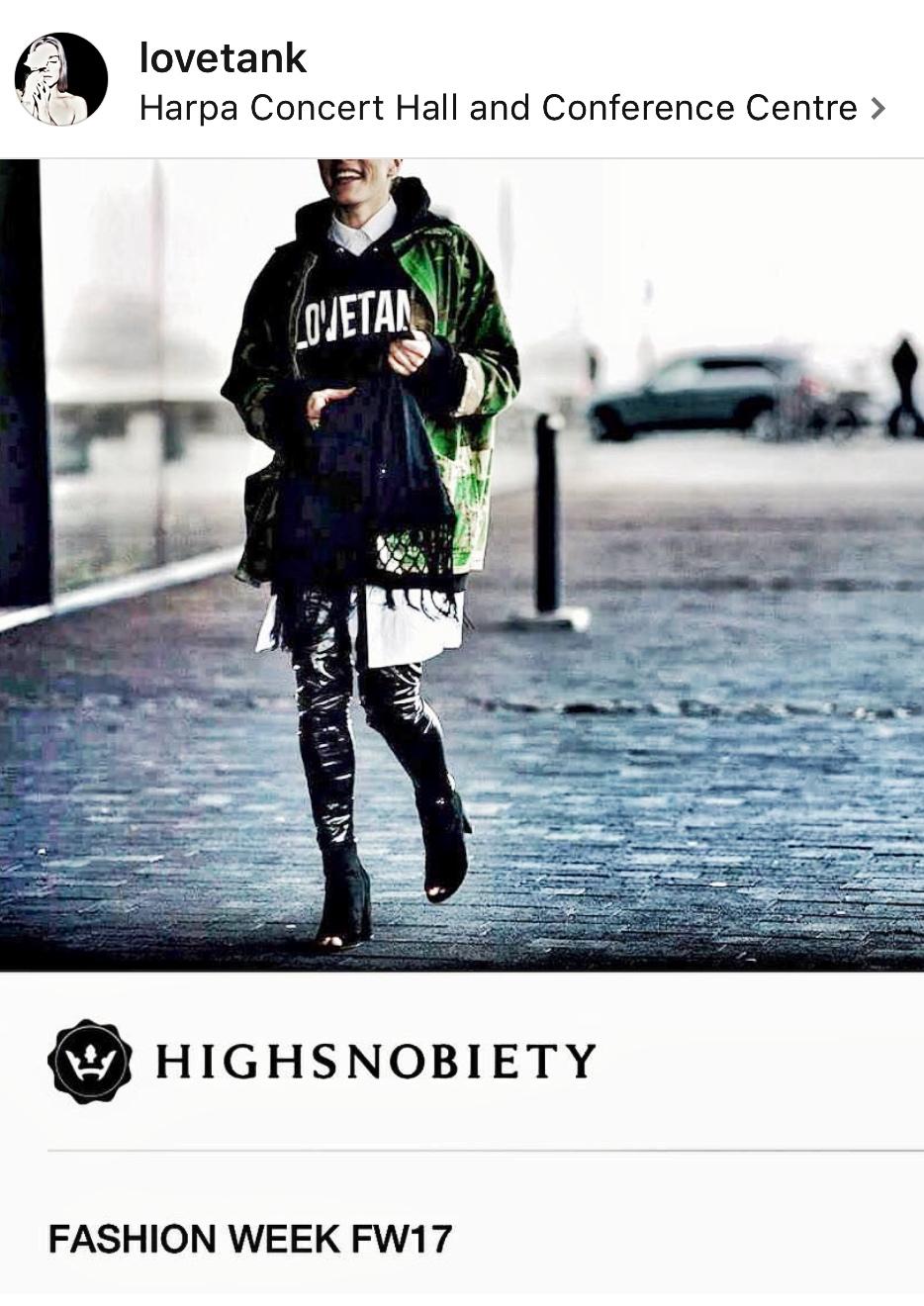 LOVETANK @highsnobiety