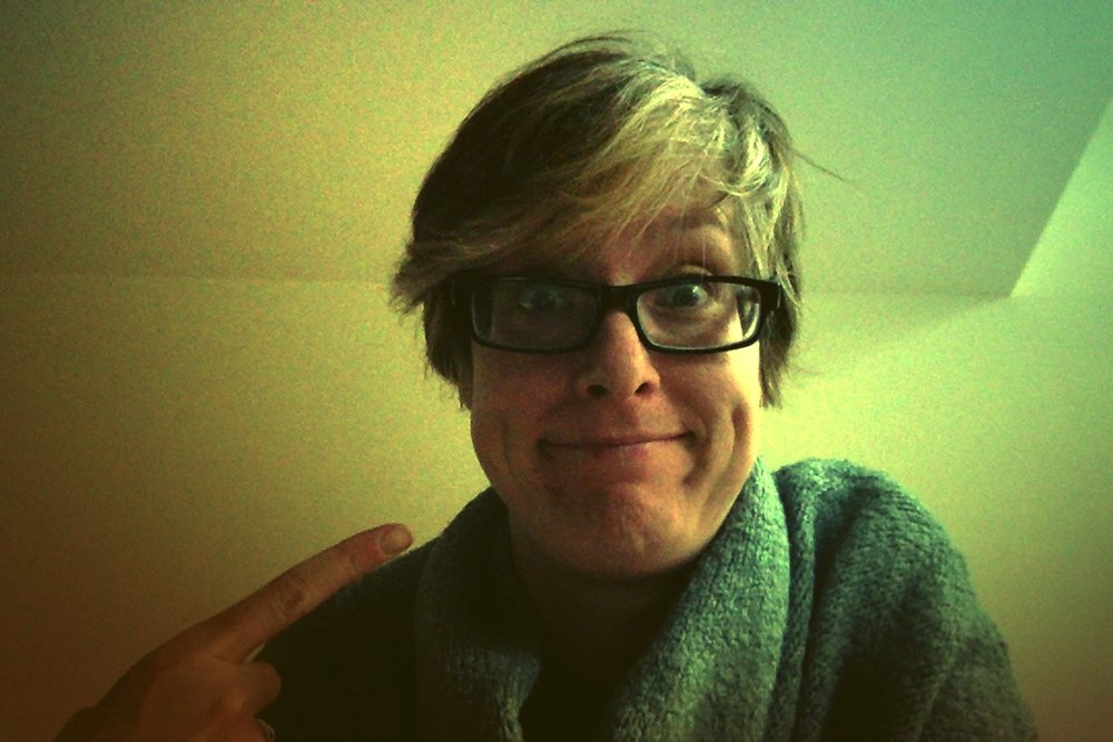 Here you go, Facebook. Here's my face. See how your newsfeed likes THAT!