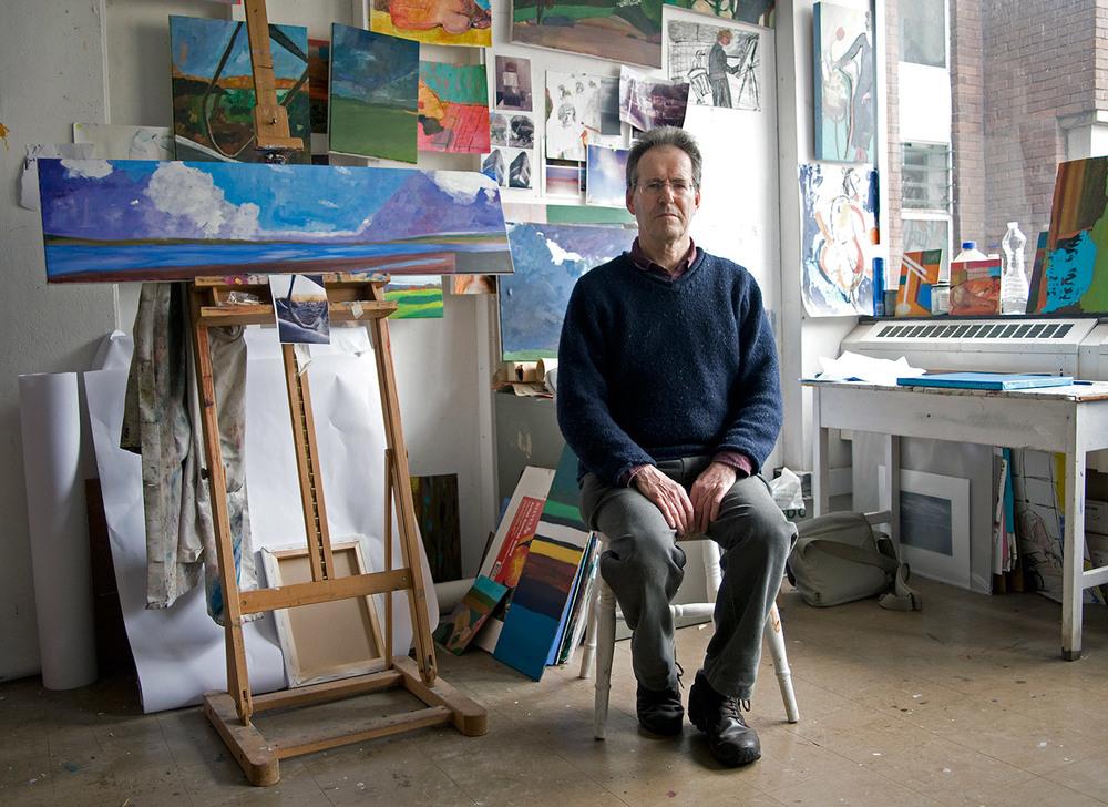 Painter David Johnson