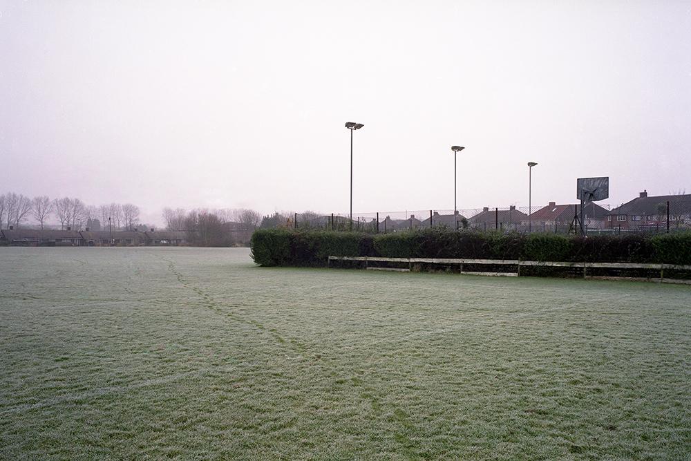 Scott's Park with frost, North Bristol