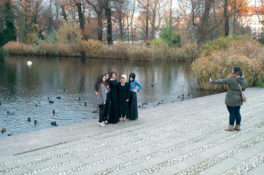 Duck pond, Schloss Charlottenburg, Berlin