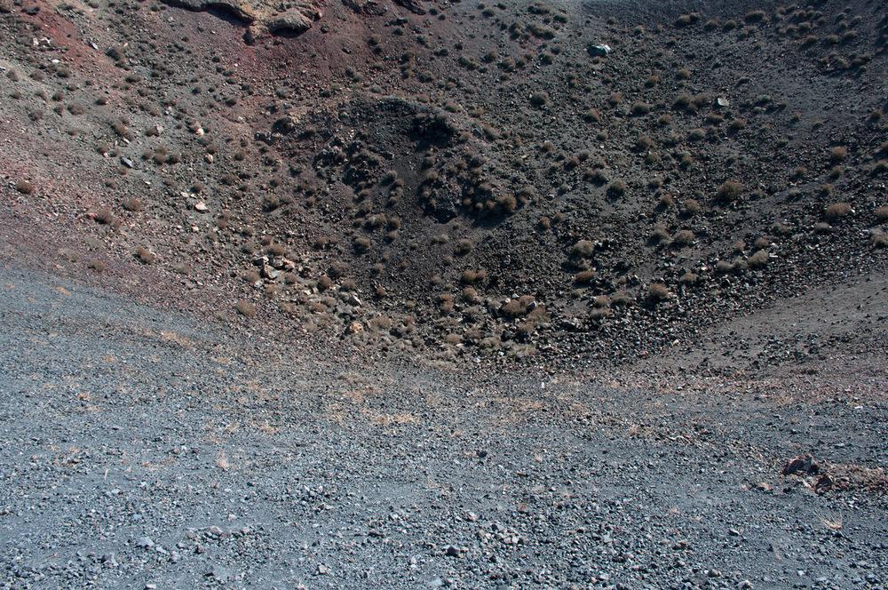 Nea Kameni volcano, Santorini, Greece