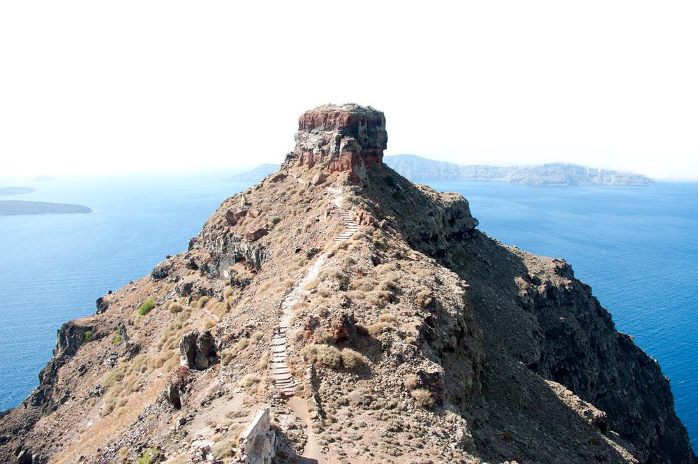 Cliff, Santorini