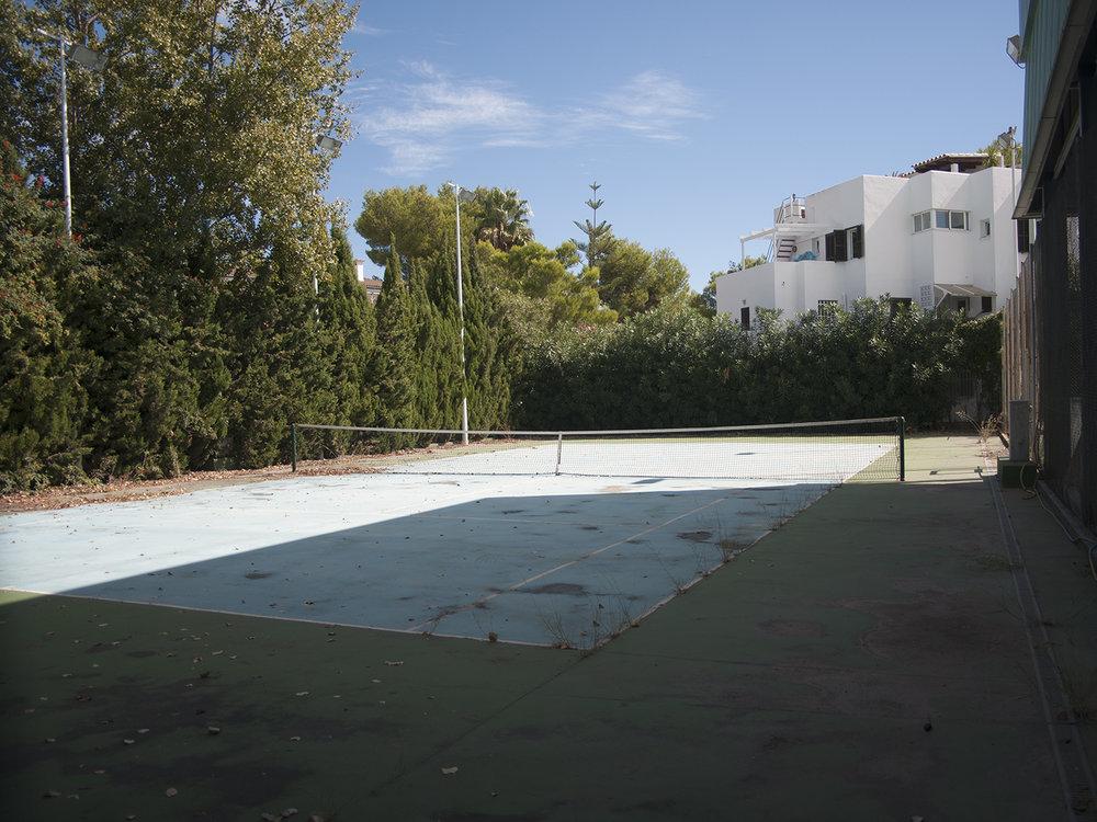 Tennis Court, Alcudia, Mallorca