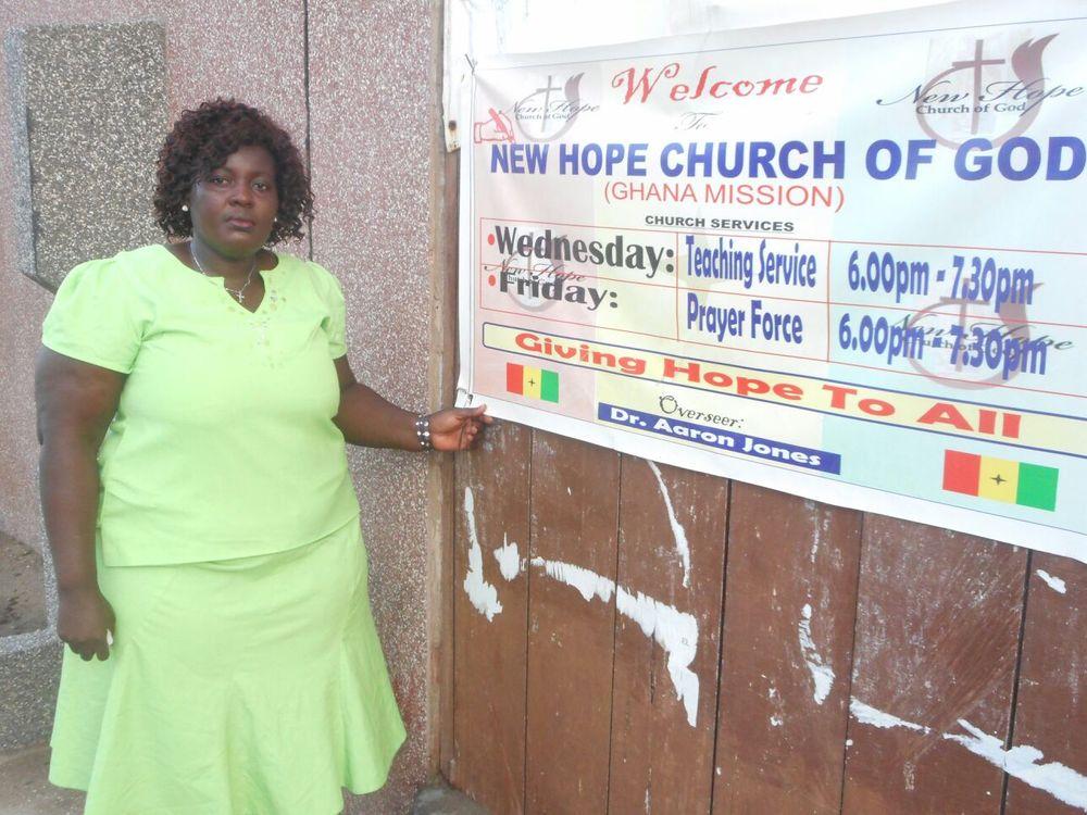 New Hope Uganda Leader