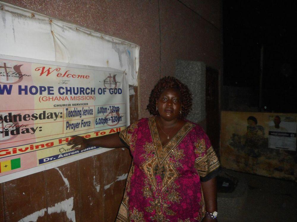 New Hope Ghana Leader
