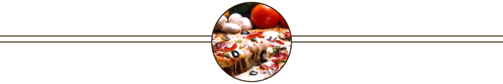 Italian Restaurant Lunch Menu - Pizza