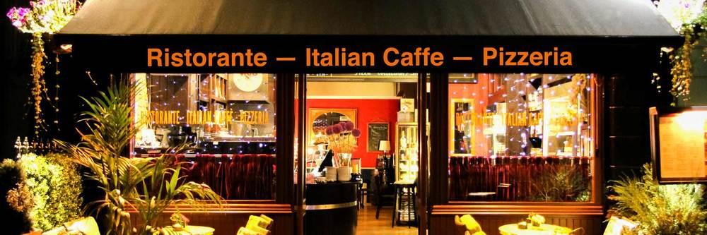 Italian Restaurants Dublin - Outside