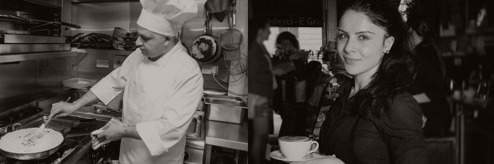 Italian Restaurants Dublin - Staff