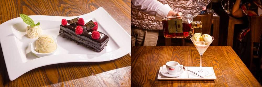 Best Italian Restaurant Dublin - Dessert Menu - Dessert