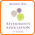 Restaurants Association of Ireland Member 2016