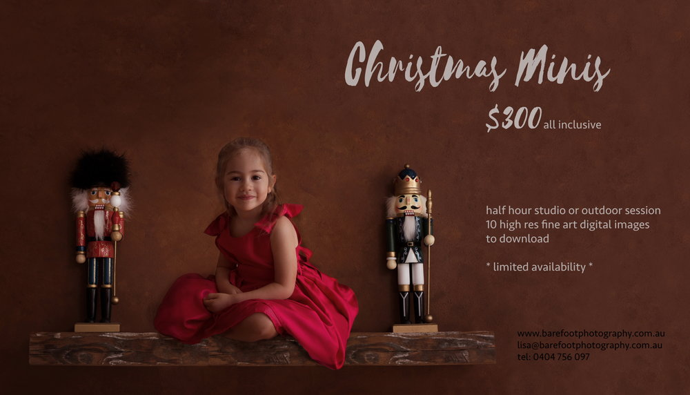 Christmas Mini Sessions - now taking bookings…