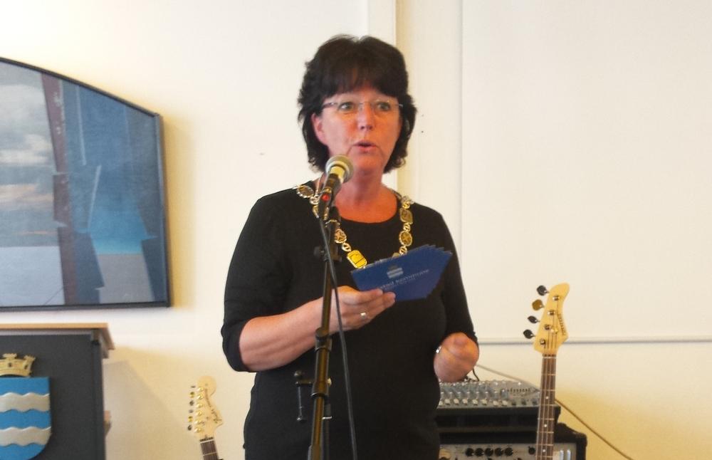 Ordfører Marianne Bremnes åpnet seminaret.