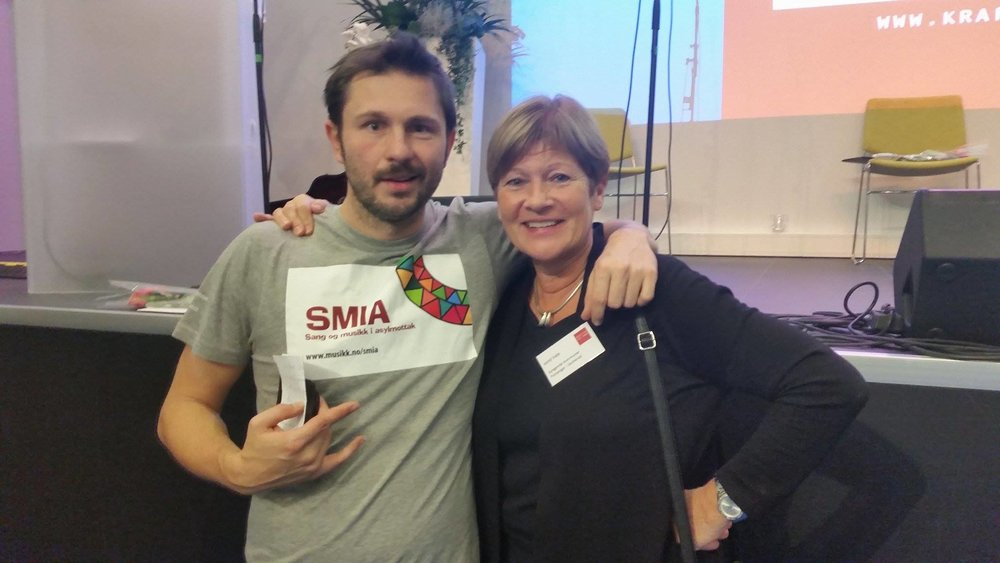 Igor Dunderovic og Jorid Kvale