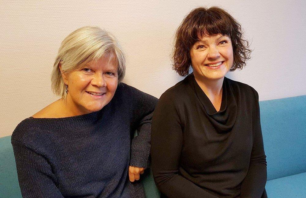 Siri Haukenes (Førstelektor) og Liv Anna Hagen (Høgskolelektor) fra Institutt for barnehagelærerutdanning ved Høgskolen i Oslo og Akershus