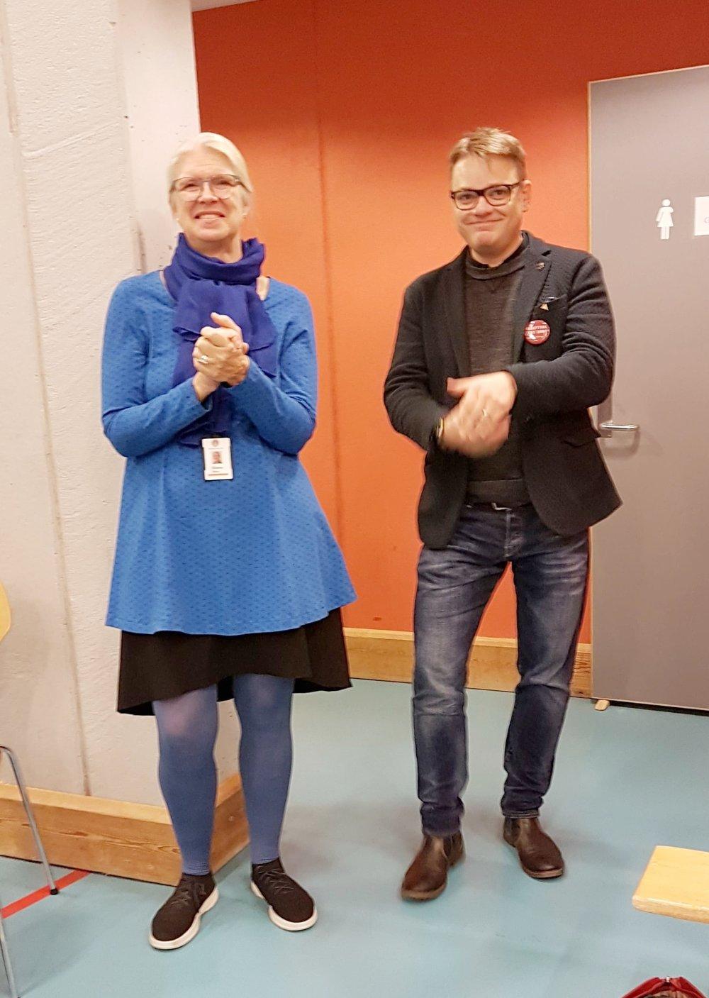 Monica Håkansson og Håkon Matti Skrede
